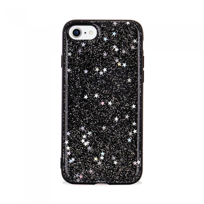 Чехол SwitchEasy Flash черный со звездами для iPhone 8/7