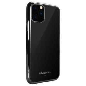 Стеклянный чехол SwitchEasy GLASS Edition чёрный для iPhone 11 Pro Max