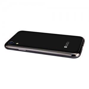 Стеклянный чехол Switcheasy Glass X черный для iPhone XR