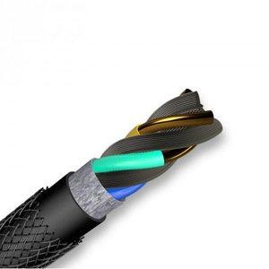 Кабель Switcheasy LinkBuddy Lightning на Type-C, 120см, черный