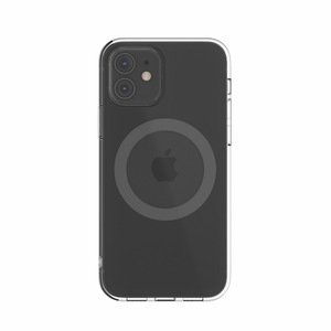 Чехол с поддержкой MagSafe Switcheasy MagClear серый для iPhone 12 mini