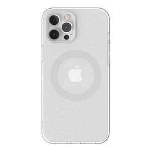 Чохол з підтримкою MagSafe Switcheasy MagClear сріблястий для iPhone 12 Pro Max