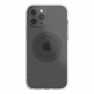 Чехол с поддержкой MagSafe Switcheasy MagClear серый для iPhone 12 Pro Max
