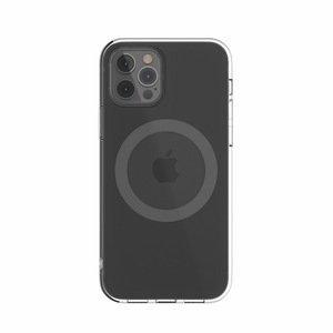 Чехол с поддержкой MagSafe Switcheasy MagClear серый для iPhone 12/12 Pro