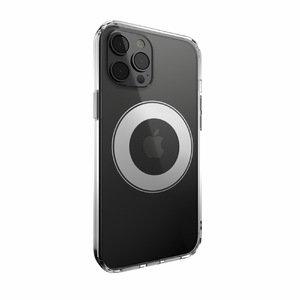 Прозорий чохол Switcheasy MagCrush з сріблястим кільцем для iPhone 12 Pro Max (GS-103-123-236-26)