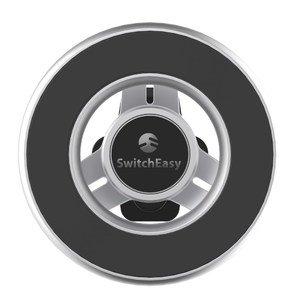 Автомобильный держатель Switcheasy MagMount (на кронштейне) серебристый для iPhone 12/12 Pro/12 mini/12 Pro Max