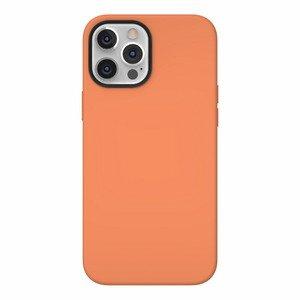 Чехол с поддержкой MagSafe Switcheasy MagSkin оранжевый для iPhone 12/12 Pro