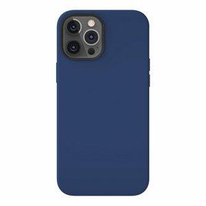 Чехол с поддержкой MagSafe Switcheasy MagSkin синий для iPhone 12 Pro Max