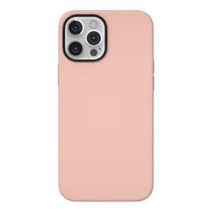 Чехол с поддержкой MagSafe Switcheasy MagSkin розовый для iPhone 12/12 Pro