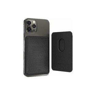 Магнитный карман-кошелек Switcheasy MagWallet для iPhone 12/12 Pro/12 Pro Max черный (GS-103-168-229-11)