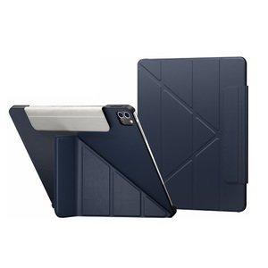 """Чехол Switcheasy Origami темно-синий для iPad Pro 12.9"""""""