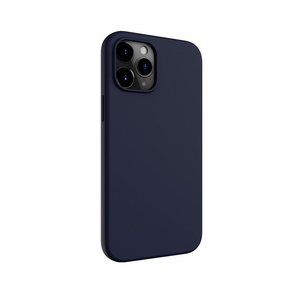 Чехол Switcheasy Skin синий для iPhone 12 Pro Max