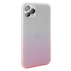 Полупрозрачный чехол Switcheasy Skin розовый для iPhone 11 Pro
