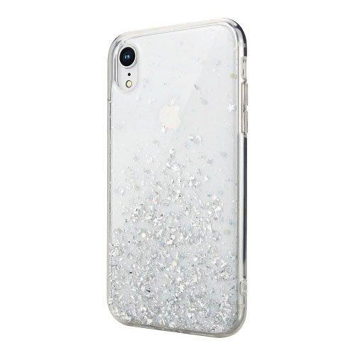 Блестящий чехол Switcheasy Starfield прозрачный для iPhone XR