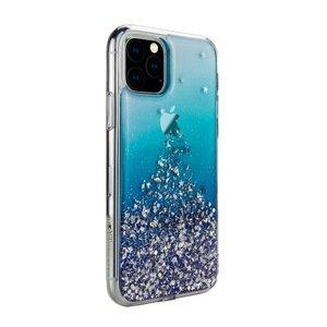 Чехол с блестками SwitchEasy Starfield Crystal синий для iPhone 11 Pro