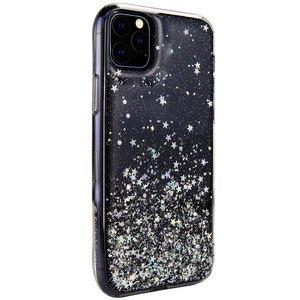 Чехол с блестками SwitchEasy Starfield чёрный для iPhone 11 Pro Max