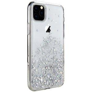 Чехол с блестками SwitchEasy Starfield прозрачный для iPhone 11 Pro Max