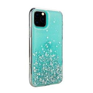 Чехол с блестками SwitchEasy Starfield голубой для iPhone 11 Pro