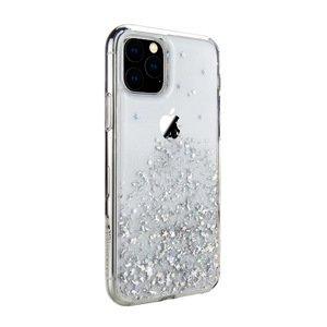 Чехол с блестками SwitchEasy Starfield прозрачный для iPhone 11 Pro