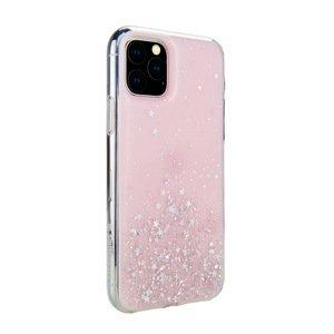 Чехол с блестками SwitchEasy Starfield розовый для iPhone 11 Pro