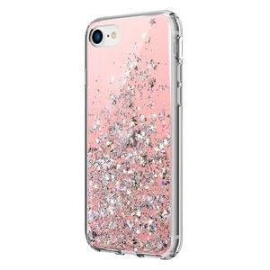 Чехол Switcheasy Starfield розовый для iPhone SE 2020