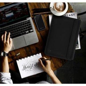 """Чехол-карман Switcheasy Thins черный для ноутбуков диагональю 13"""""""