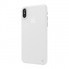 Полупрозрачный чехол SwitchEasy UltraSlim Protection белый для iPhone X/XS