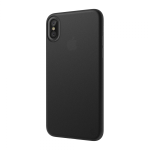 Полупрозрачный чехол SwitchEasy UltraSlim Protection черный для iPhone X/XS