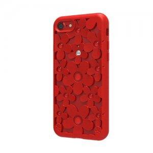 3D чехол SwitchEasy Fleur красный для iPhone 7