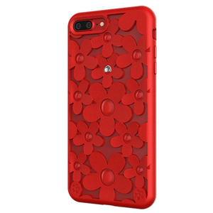 3D чехол SwitchEasy Fleur красный для iPhone 8 Plus/7 Plus