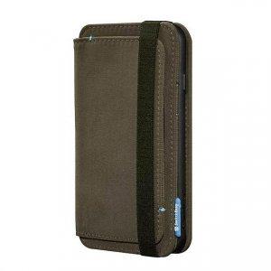 Чехол с отделом для карточек SwitchEasy LifePocket Folio зеленый для iPhone 6