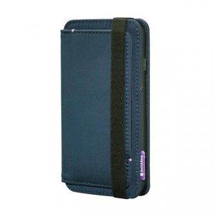 Чехол с отделом для карточек SwitchEasy LifePocket Folio синий для iPhone 6