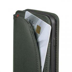 Чехол с отделом для карточек SwitchEasy LifePocket Folio серый для iPhone 6