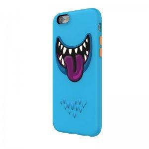 3D чехол с рисунком SwitchEasy Monster синий для iPhone 6/6S