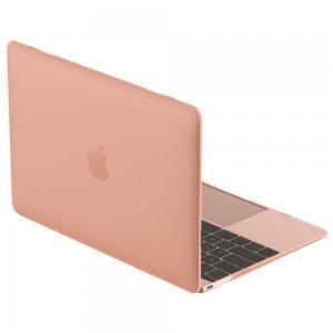 """Полупрозрачный чехол SwitchEasy Nude розовый для Macbook 12"""""""