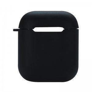 Силиконовый чехол Coteetci черный для Apple AirPods