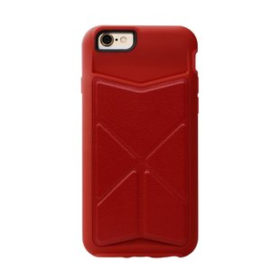 Чехол-накладка для Apple iPhone 6/6S - iBacks Windmill красный