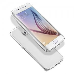 Чехол-накладка для Samsung Galaxy S6 Edge 0,3мм прозрачный