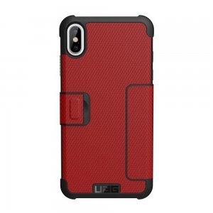 Чехол-книжка UAG Metropolis красный для iPhone XS Max