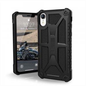 Противоударный чехол UAG Monarch чёрный для iPhone XR