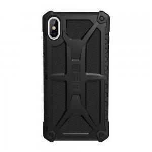 Противоударный чехол UAG Monarch чёрный для iPhone XS Max