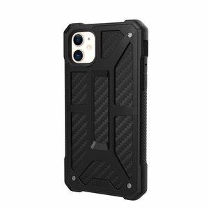 Защитный чехол UAG Monarch Carbon черный для iPhone 11