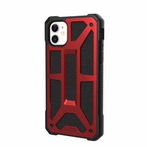 Защитный чехол UAG Monarch красный для iPhone 11