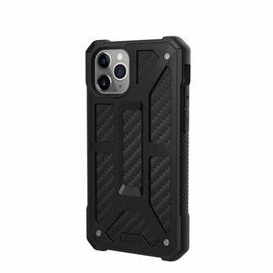 Защитный чехол UAG Monarch Carbon черный для iPhone 11 Pro