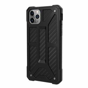Защитный чехол UAG Monarch Carbon черный для iPhone 11 Pro Max