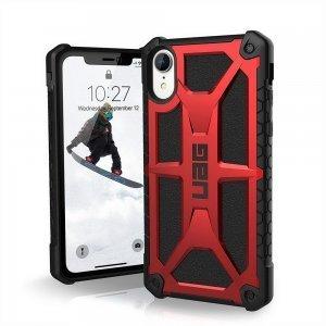 Противоударный чехол UAG Monarch красный для iPhone XR