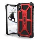 Противоударный чехол UAG Monarch красный для iPhone XS Max