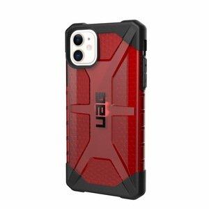 Защитный чехол UAG Plasma красный для iPhone 11
