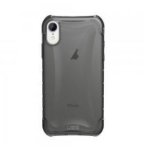 Противоударный полупрозрачный чехол UAG Plyo серый для iPhone XR