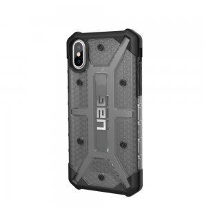Чехол-накладка Urban Armor Gear Plasma серый для iPhone X/XS